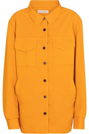 DRIES VAN NOTEN Women Shirts - Cotton shirt jacket
