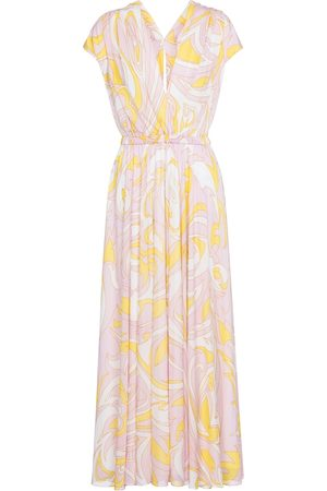 Emilio Pucci Dinamica printed maxi dress