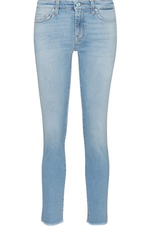 7 for all Mankind Women Skinny - Pyper cropped mid-rise skinny jeans