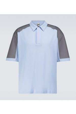 GR10K TR Deal shoulder-patch polo shirt