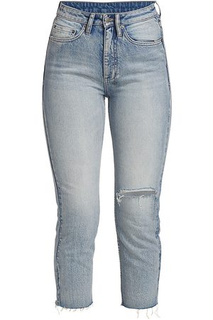 KSUBI Women Pants - Women's Eterno Paradiso 9 O Heavenz Distressed Jeans - Denim - Size 28