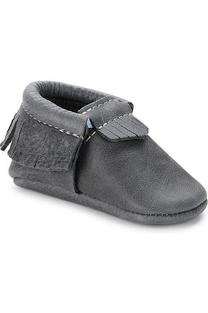 Freshly Picked Boys Loafers - Baby Boy's Spruce Mini Sole Classic Moccasins - Spruce - Size 5 (Baby)