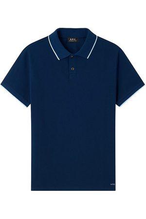 A.P.C. Men's Max Polo Shirt - Dark - Size XS