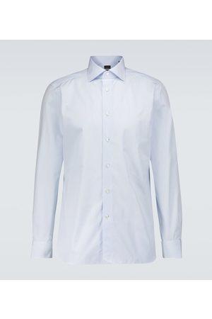 Ermenegildo Zegna Trofeo cotton-silk striped shirt