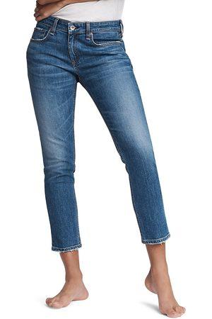 RAG&BONE Women's Dre Mid-Rise Slim Boyfriend Jeans - Julienne - Size 28