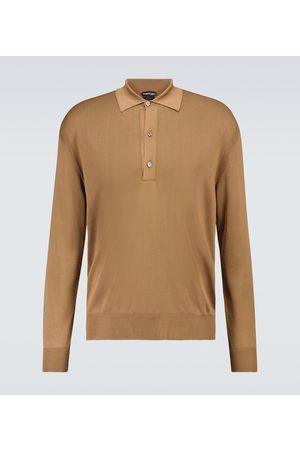 Tom Ford Long-sleeved polo shirt