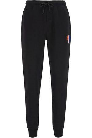 BOSS x NBA Men's Knicks Logo Sweatpants - Oxford - Size Medium