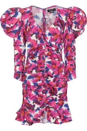Isabel Marant Mireya floral minidress