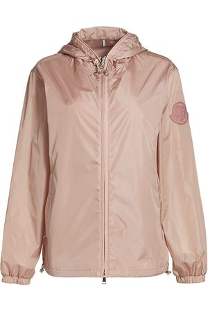Moncler Women's Alexandrite Hooded Jacket - Blush - Size XL