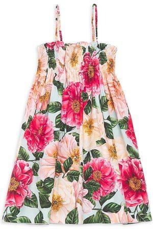 Dolce & Gabbana Little Girl's & Girl's Floral Sleeveless Dress - Floral - Size 12