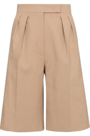 Max Mara Ottuso stretch-cotton Bermuda shorts