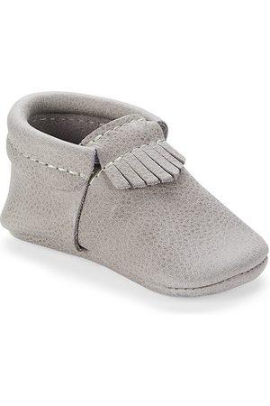 Freshly Picked Boys Loafers - Baby Boy's Salt Flats City Moccasins - Salt Flats - Size 3 (Baby)