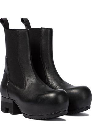 Rick Owens Beatle leather Chelsea boots