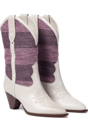 Isabel Marant Luliette leather cowboy boots