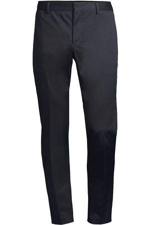 PT01 Men's Tapered Stretch Pants - Navy - Size 32