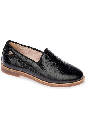 Venettini Girls Loafers - Girl's Leather Loafers - - Size 3.5 (Child)