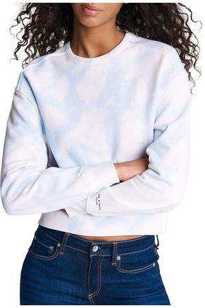 RAG&BONE Women Denim - Women's City Tie-Dye Sweatshirt - Oasis - Size XS