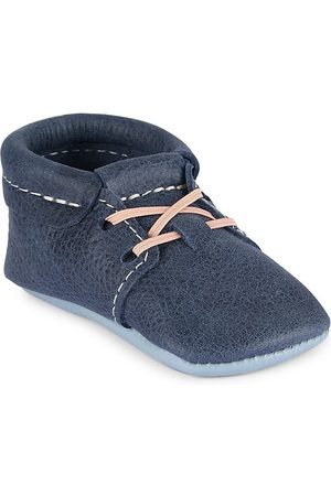 Freshly Picked Boys Formal Shoes - Baby Boy's Coastal Leather Oxfords - Coastal - Size 1 (Baby)