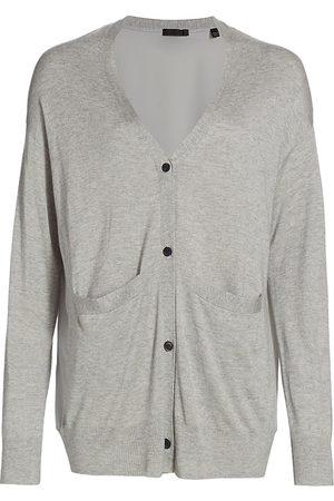 ATM Anthony Thomas Melillo Women's Cashmere Silk Cardigan - Vapor - Size XS
