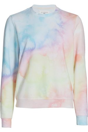 SOL ANGELES Women's Watercolor Pullover Sweater - Watercolor - Size Large
