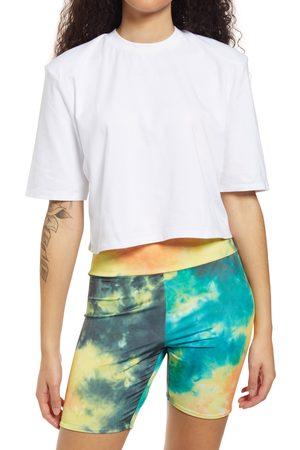 AFRM Women's Weylin Shoulder Pad Crop T-Shirt