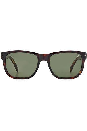 David beckham Men Square - Men's Marc 54MM Square Sunglasses - Havana