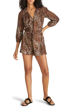 VERONICA BEARD Women's Carolina Print Cover-Up Romper