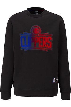 BOSS x NBA Men's Clippers Logo Sweatshirt - Oxford - Size XXL