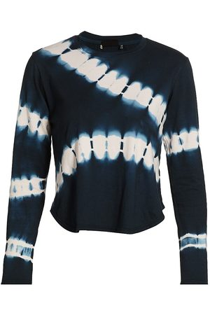 The Upside Women's Courtney Tie-Dye Top - Navy - Size Small