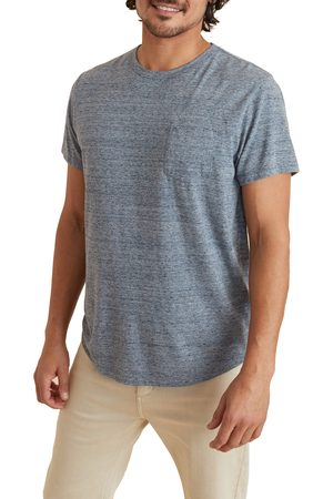 Marine Layer Men's Re-Spun Saddle Hem Pocket T-Shirt