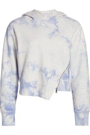 Jonathan Simkhai Standard Women's Archer Tie-Dye Sweatshirt - Sky Tie Dye - Size Small
