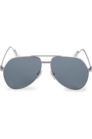 Cartier Men's Core Range 58MM Aviator Sunglasses
