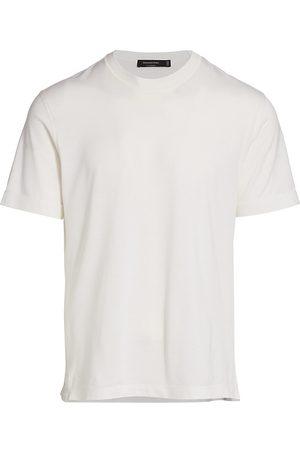 Ermenegildo Zegna Women T-shirts - Women's Leggerissimo Silk-Cotton T-Shirt - - Size 48
