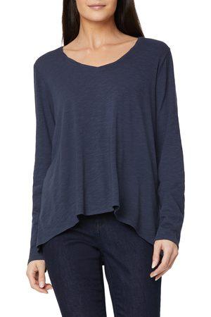 NYDJ Women's Twist Neck Long Sleeve T-Shirt
