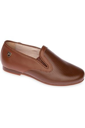Venettini Little Boy's and Boy's Falcon Leather Slip-Ons - - Size 3.5 (Child)