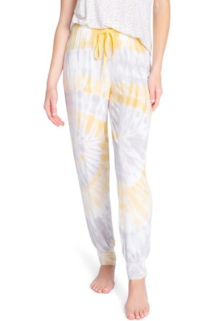P.J.Salvage Women's Sunburst Tie Dye Lounge Joggers