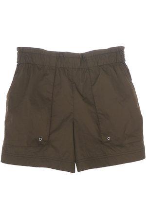 Helmut Lang Women's Paperbag Shorts - Burnt Olive - Size XS