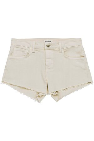 L'Agence Women's Audrey Mid-Rise Shorts - Biscuit - Size 30