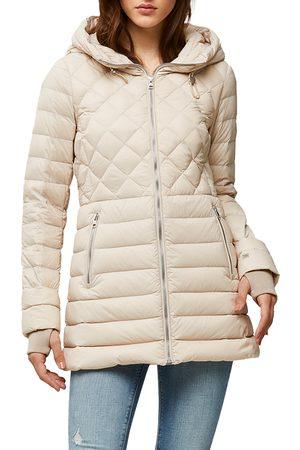 Soia & Kyo Women's Alyssandra 700 Fill Power Down Water Repellent Hooded Jacket
