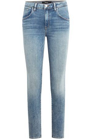 Hudson Women's Barbara High-Rise Super Skinny Jeans - Moving On - Size 31