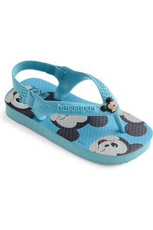 Havaianas Kid's Mickey Mouse Thong Sandals - - Size 9 (Toddler)