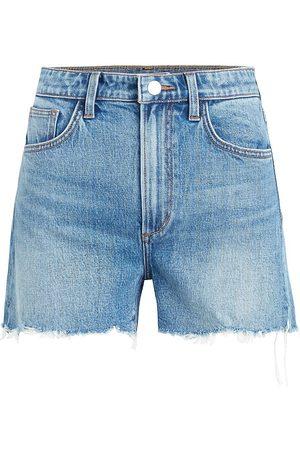 Joes Jeans Women Shorts - Women's The Ozzie Cutoff Denim Shorts - Denali - Size 31