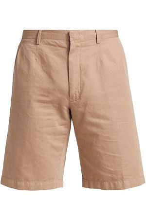 Ermenegildo Zegna Women Shorts - Women's Cotton-Linen Shorts - - Size 46