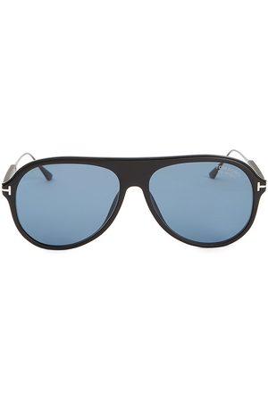 Tom Ford Men's 57MM Injected Aviator Sunglasses