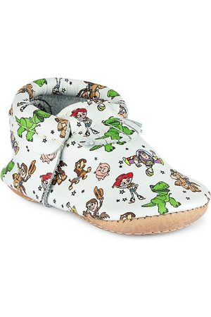 Freshly Picked Baby Boy's Toy Story Mini Sole City Moccasins - Toy Story - Size 5 (Baby)