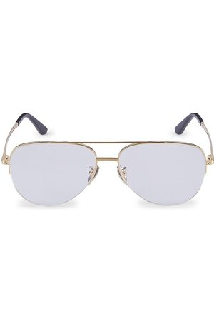 Cartier Women's Core Range 58MM Aviator Optical Glasses - Transparent