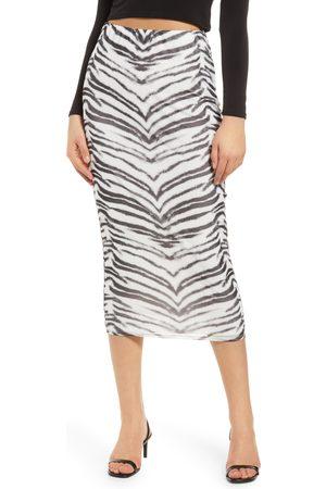AFRM Women's Felix Print Skirt