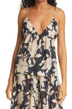ISLA AND WHITE Women's Isla & Olada Floral Print Camisole