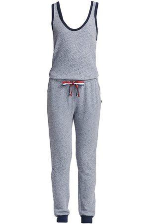 SOL ANGELES Women's Anapaca Pique Jumpsuit - Indigo - Size Small
