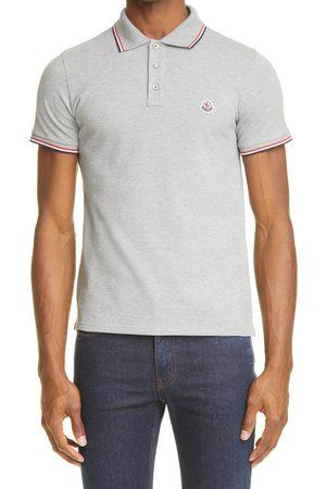 Moncler Men's Short Sleeve Pique Polo